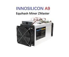 Innosilicon A9 ZMaster 50ksols / Terminator T3 + PSU