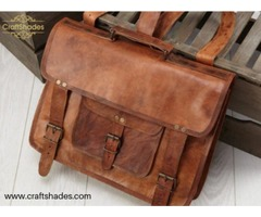 CraftShades is a leather bags manufacturer & trading brand