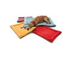 Dog Sleeping Mat - Multi-Color Padded Puppy Dog Mat