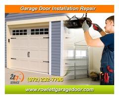 Immediately Response on New Garage Door Installation ($25.95) Rowlett Dallas, 75087 TX