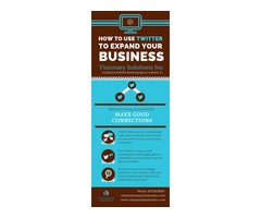 Smart Strategies to Use Twitter to Expand Your Business by Visionary Solutions Inc