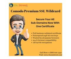 Comodo Premium SSL Wildcard For Multiple Subdomain Security