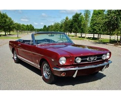 1965 Ford Mustang GT Convertible 4-Speed Fully Restored! Rare!