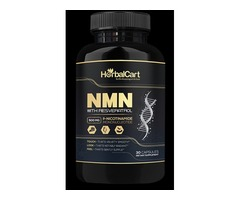 Anti Aging Supplement | NMN With Resveratrol - HerbalCart