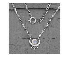 Moonstone Necklace - Secret Paragon - GSJ