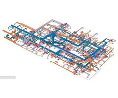 Revit MEP services for Building Construction