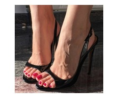Plain Slingback Strappy Buckle Heel Sandals