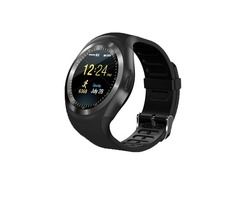 Y1 Smart Phone Watch Touch Screen Support Micro SIM Card with Bluetooth Camera Outdoor Sport Fitness
