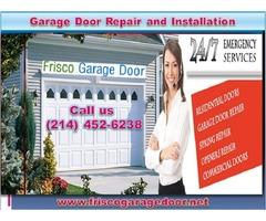 Expert Garage Door Repair Frisco, 75034 TX – Start $25.95