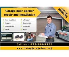 Garage Door Door  Rolling Gate Repairs  Services ($25.95) Irving, 75039 TX
