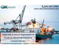 Why is customs bonds and oti bonds needed?