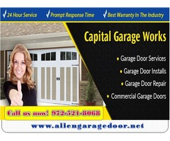 Garage Door Spring Installation and Repair Services ($25.95) Allen |Dallas, 75071, TX