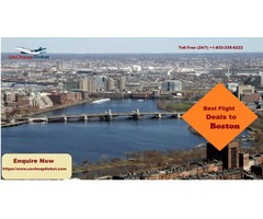 Get Cheap Tickets to Boston with Customized Offers