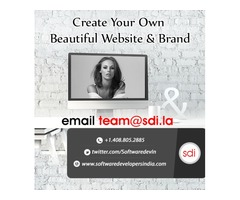 Website design for Fashion, and Trendy Clothing Websites