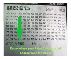 How to Find a Paint Code of Car from Videos