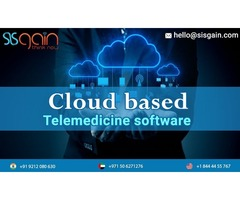 Looking for Cloud based Telemedicine software in USA | SISGAIN