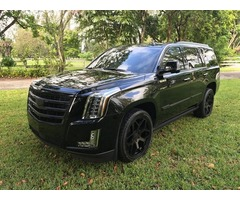 2016 Cadillac Escalade premium luxury