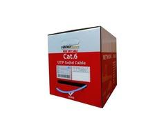 Bulk Cat6 Plenum CMP Solid Cable