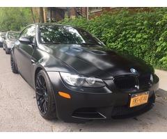 2011 BMW M3 FROZEN BLACK