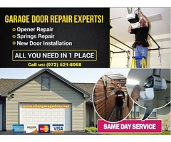 #1 Garage Door Installation ($25.95) Allen | Dallas,75071, TX