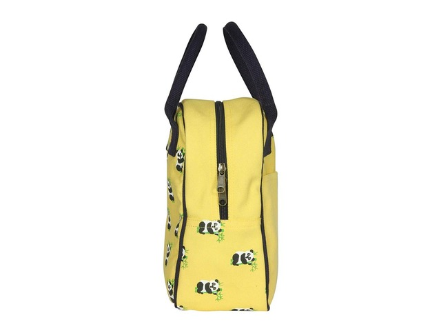 Ecofriendly Canvas Lunch Tote Bag with Bottle Holder & Zipper for Travel shipping business washa   free-classifieds-usa.com