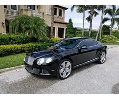 2013 Bentley Continental GT GT SPEED V12 MULLINER
