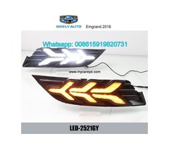 Geely Emgrand 2018 DRL LED Daytime Running Lights autobody parts