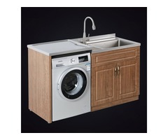 How Thick Is The Waterproof Layer Of The Stainless Steel Laundry Cabinet?