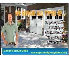 Top Most Rated Garage Door Spring Repair in Garland, TX - $25.95