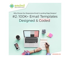 Psd to email conversion services USA | Encircl