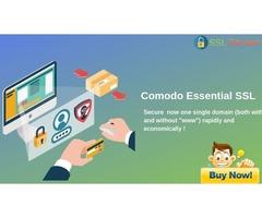 Comodo Essential SSL Certificate Provide 99.3% Browser Compatibility