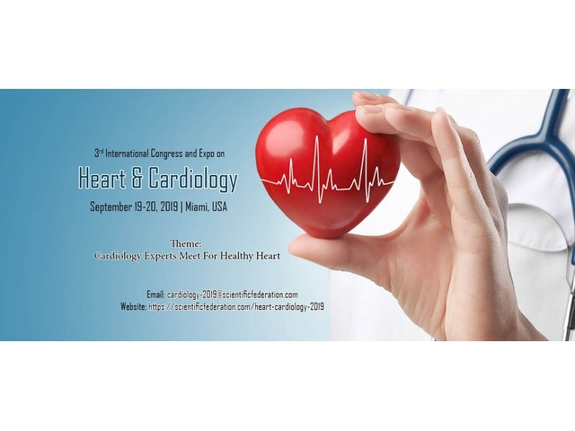 3rd International Congress and Expo on Heart & Cardiology  | free-classifieds-usa.com
