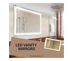 Praise Yourself More By Using LED Vanity Mirrors