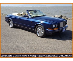 1996 Bentley Azure BENTLEY AZURE CONVERTIBLE