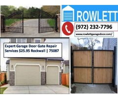 Best Possible Service for Automatic Gate Repairs ($25.95) Rowlett Dallas, 75087 TX
