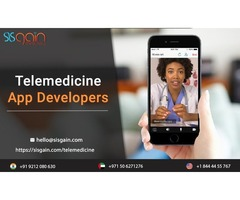 Looking for Telemedicine App Developers in USA | SISGAIN