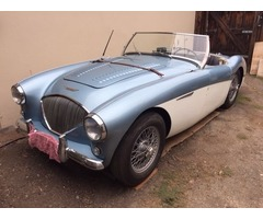 1956 Austin Healey 100-M factory LeMans model