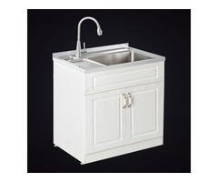 Stainless Steel Laundry Cabinet Is Very Malleable