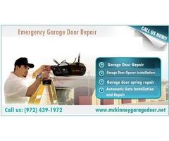 24/7 Emergency Garage Door Repair 75069, TX - $25.95