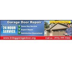#1 Experience Garage Door Repair Services Technicians   Irving, TX