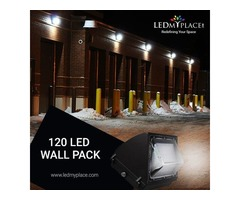 Use 120W LED Wall Pack Light as the Perfect Outdoor Lighting