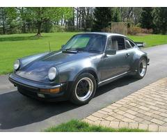 1987 Porsche 911 White Leather