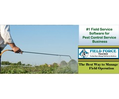 Pest Control Software for Field Service - Field Force Tracker