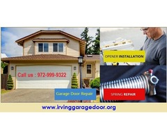 BBB A+ Rated Garage Door Repair Services ($25.95) Irving, 75039 TX