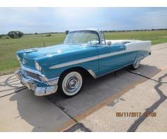1956 Chevrolet Bel Air150210 Convertible; 2 Door