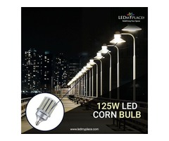 Use 125W LED Corn Bulb at Your Showrooms to Attract Customers