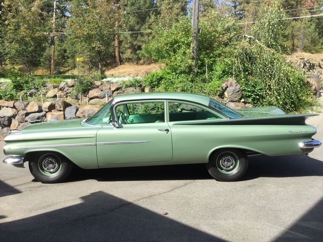 1959 chevrolet biscayne 2 door sedan - classic cars - puyallup