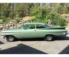 1959 Chevrolet Biscayne 2 Door Sedan