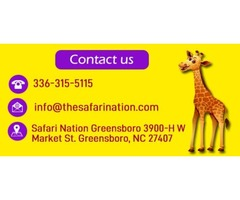 Jumping Places For Birthday Parties In Greensboro NC - The Safari Nation