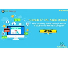 Comodo EV SSL Single Domain SSL With Unlimited Re-issuance Policy